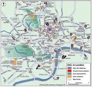 London England Map by Maps Of London