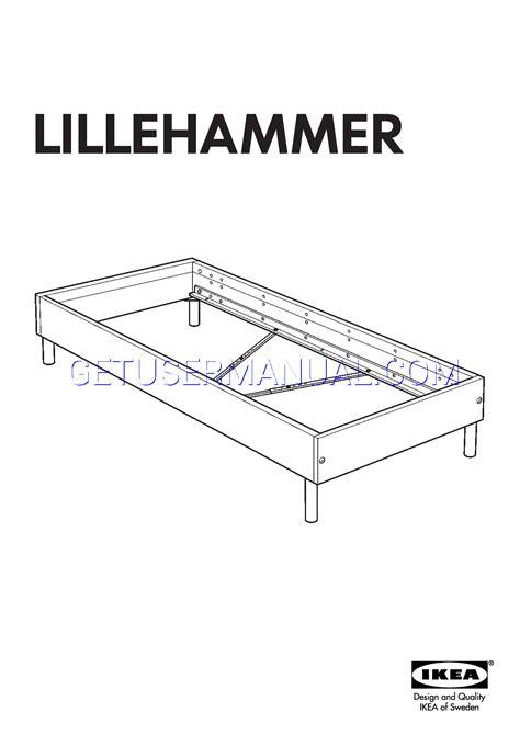 bed frame assembly ikea bed frame manual frame design reviews