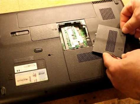 resetting hp hard drive how to change the hard drive and ram on a hp g60 laptop