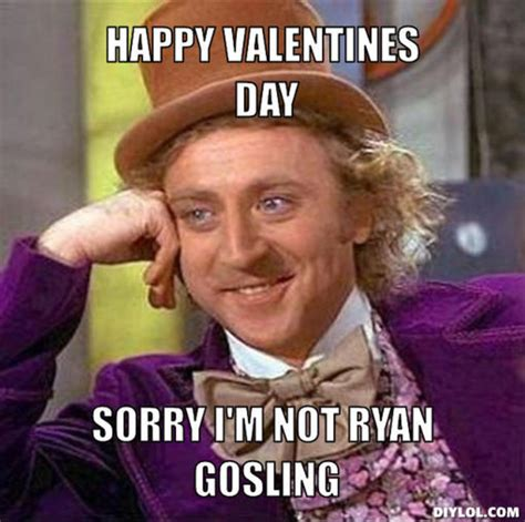Willy Wonka Meme Creator - top 10 valentine s day memes
