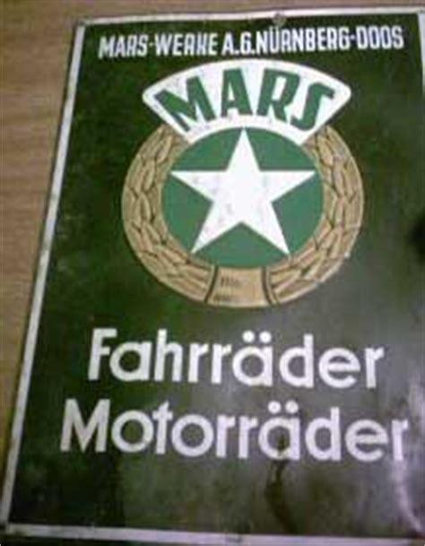 Motorradhersteller N Rnberg by Motorr 228 Der Aus N 252 Rnberg Mars M A