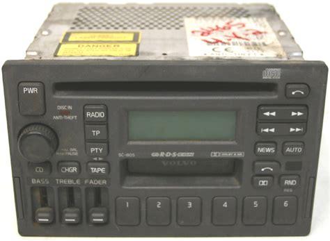 volvo   factory stereo tape cd player oem amfm radio