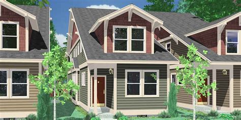 Narrow Lot House Plans With Rear Garage Narrow Lot House Plans House Plans With Rear Garage 10119