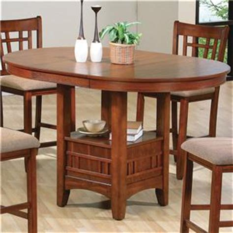 dining room pub tables crown empire counter height dining table