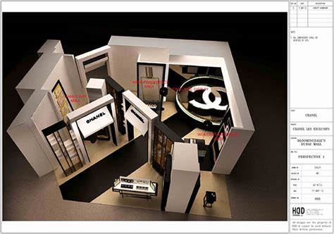 Chanel Stand chanel bloomingdales dubai mall exhibition stand on behance