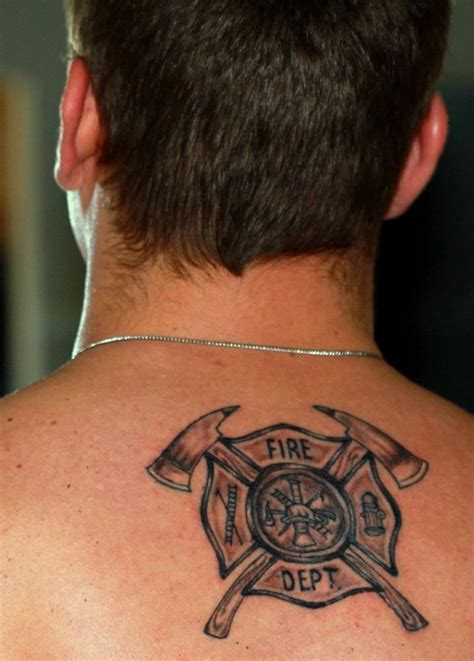 small firefighter tattoos 17 best ideas about fireman on