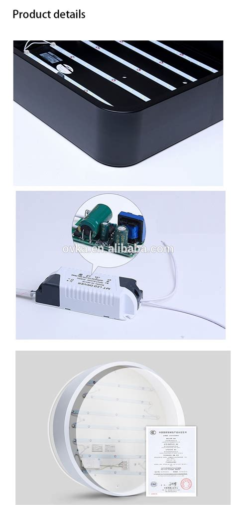 12w ip65 surface mount bathroom ceiling lighting led
