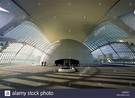 the city of arts and sciences by santiago calatrava and felix candela spain valencia the city of arts and sciences by