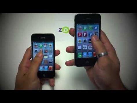 diferenças entre o iphone 4 e o 4s youtube