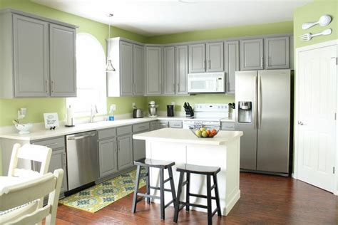 grey green kitchen cabinets grey cabinets green walls kitchen pinterest