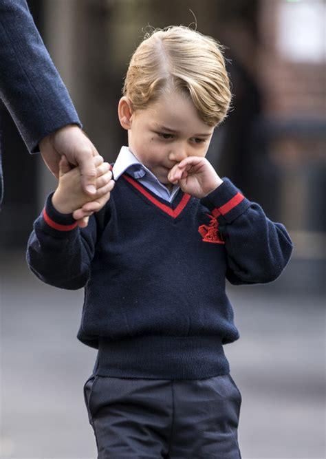 george empieza el cole 8448837843 la duquesa de cambridge la gran ausente en el primer d 237 a de colegio del pr 237 ncipe george foto