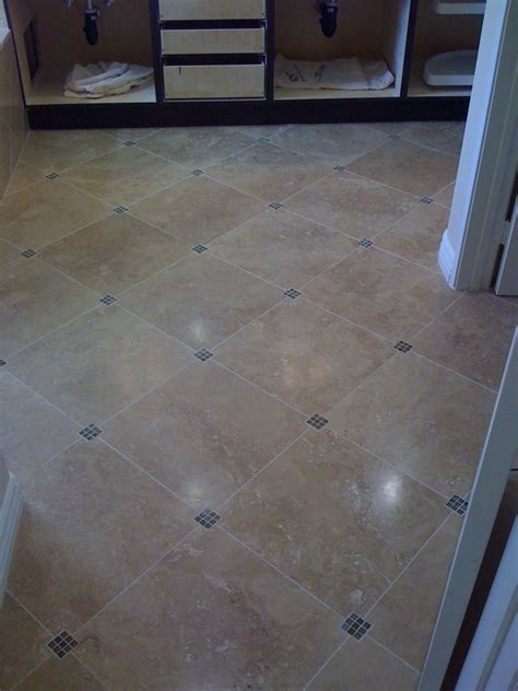 Bathroom Shower Floor Tile Bathroom Floor Tile Ideas And Warmer Effect They Can Give Traba Homes