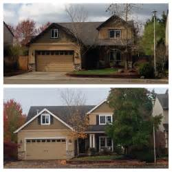make my house inside heather s home craftsman curb appeal before after