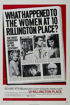 A Place Letterboxd 10 Rillington Place 1971 Directed By Richard Fleischer Reviews Cast Letterboxd