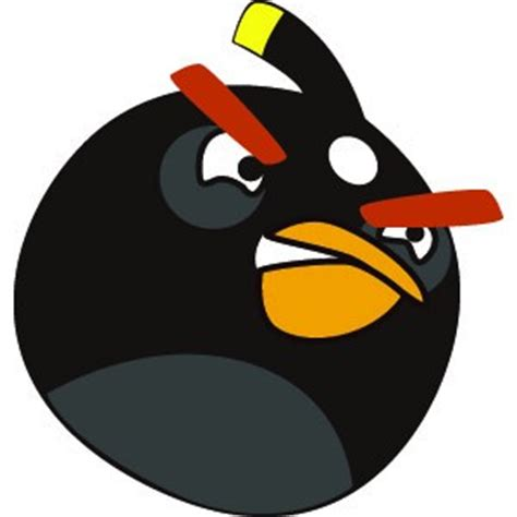 Birds Wall Sticker passion stickers angry birds black bird decals