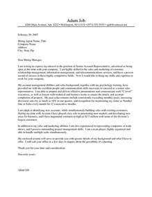 Cover Letter For Marketing by Recentresumes