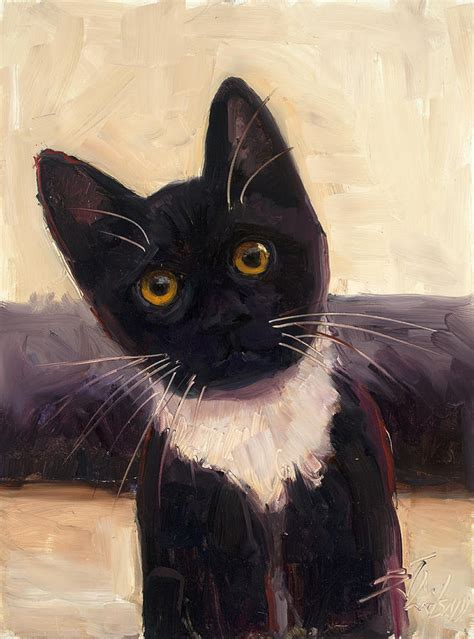 painting cat whiskers your whiskers painting by billie colson