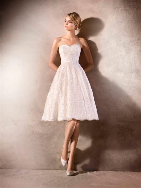 vestidos de novia cortos pronovias vestidos de novia cortos 15 vestidos para dar el s 237