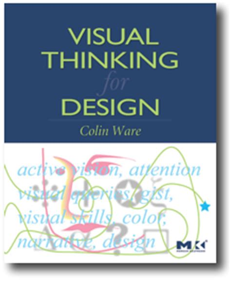 design thinking for visual communication review book review visual thinking for design by colin ware