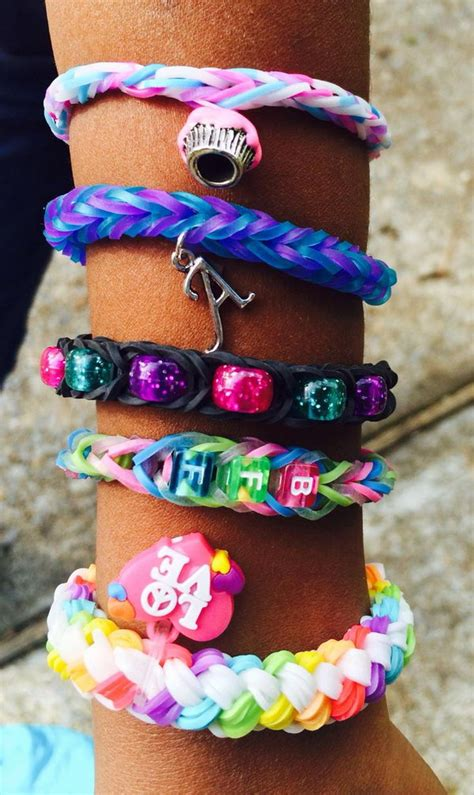 cool diy rainbow loom bracelets  kids hative