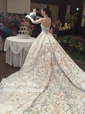 wedding dress designer indonesia the wedding inspirations beautiful batik wedding dresses