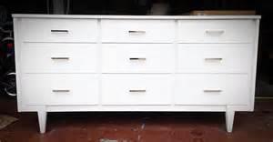 modern furniture dressers white mid century modern dresser simply made by