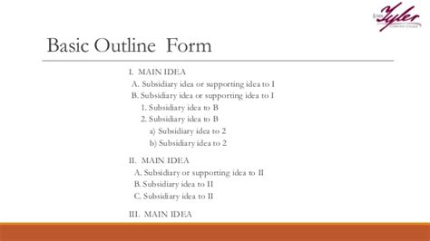 Basic Study Outline by Outlines