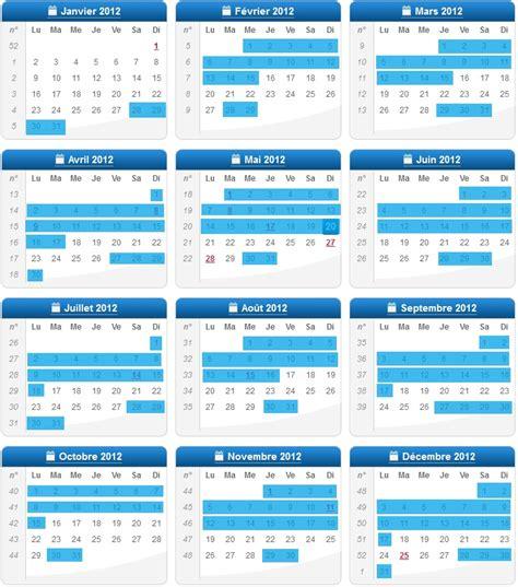 Calendrier D Actualisation Pôle Emploi 2016 Calendrier 2012 S Actualiser Sur Pole Emploi Dates D