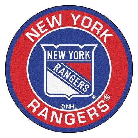 rangers rug new york rangers logo roundel mat 27 quot
