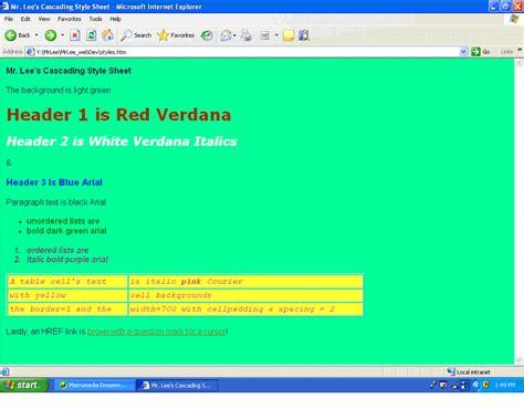 css layout exercises digital design advwebdev roswell high school mr lee