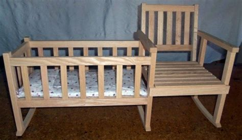 build  rocking chair  crib diy projects