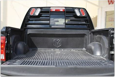 Western Hauler Headache Rack by Lighted Headache Rack Post Your Pics Page 2 Dodge
