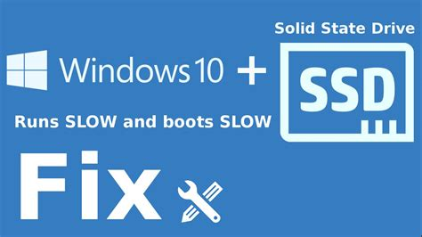 install windows 10 to ssd windows 10 with ssd is slow fix youtube