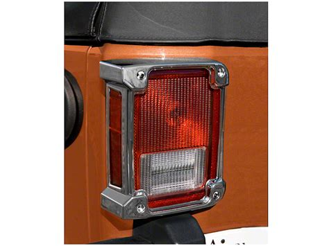 Rugged Ridge Light Guards by Rugged Ridge Wrangler Light Covers Chrome 13311 21