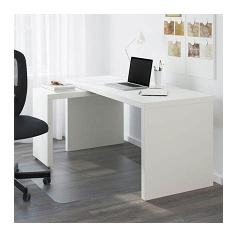 malm desk with pull out panel white malm ikea and desks