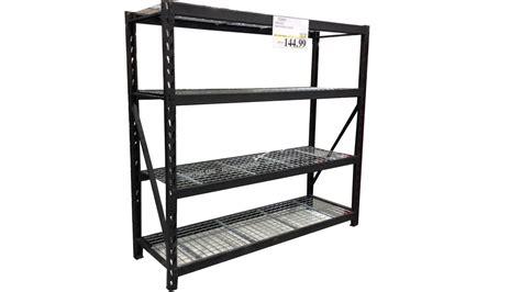costco shelves garage costco s industrial storage shelf rack review