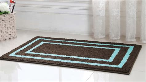 Brown And Blue Bathroom Rugs Blue Brown Rug Contemporary Home Design Ideas