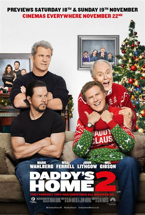 new movies releases daddys home 2 by will ferrell and mark wahlberg daddy s home 2 dvd release date redbox netflix itunes amazon