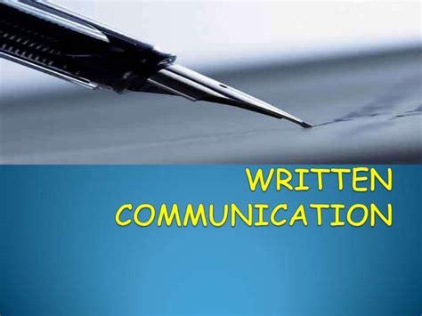 Home Design Basics Written Communication