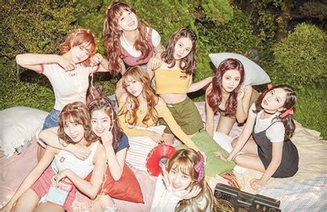 twice first album twice tops korean music charts with twicetagram album