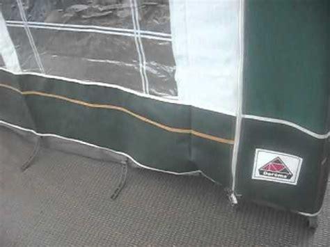 dorema porch awning instructions dorema toronto porch awning green fibre poles youtube
