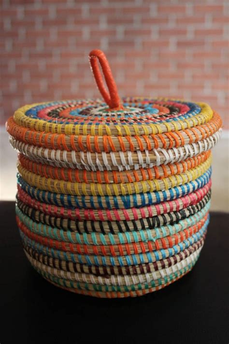 Handmade Basket - a giveaway the view from here