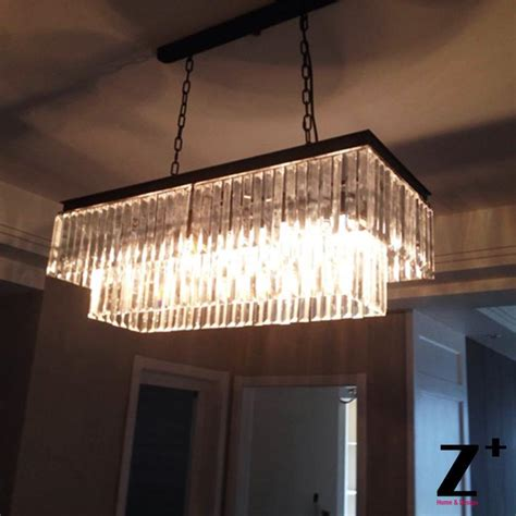 Rectangular Glass Chandelier Popular Rectangular Glass Chandelier Buy Cheap Rectangular Glass Chandelier Lots From China