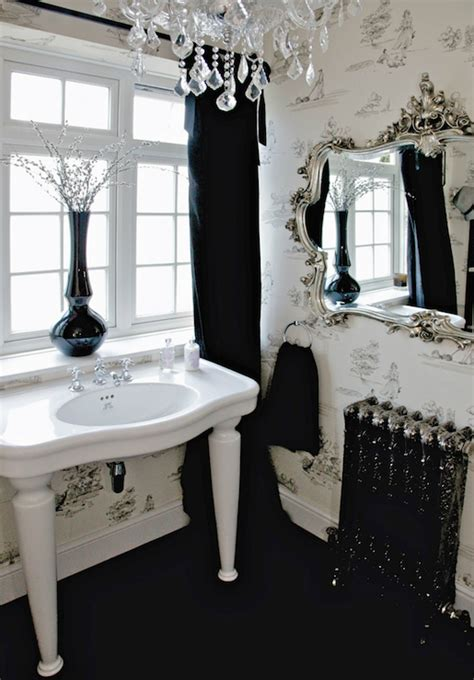 black and white toile wallpaper bathroom black and white toile window panels design ideas