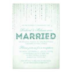 Reception Only Invitation Wording Sparkly Glitter Wedding Reception Only Invitation For Wording My Chaveeeeezy S Pinterest