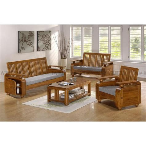 wooden sofa set with storage sets bettye teak wood sofa set with storage compartment