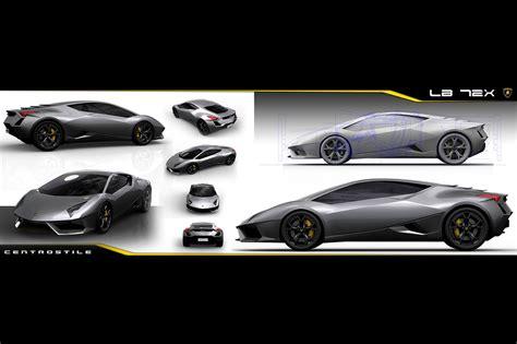 Lamborghini Centro Stile Huracan Early Design Sketches Early Huracan Design 25 Hr