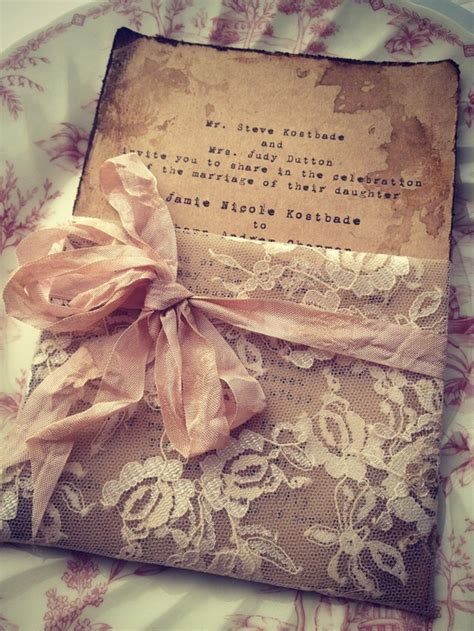 Handmade Paper Wedding Invitations - fashionable wedding invitations