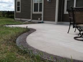 patio color 25 best ideas about colored concrete patio on