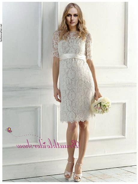 Hochzeitskleid Kurz Spitze by Spitzen Brautkleid Kurz